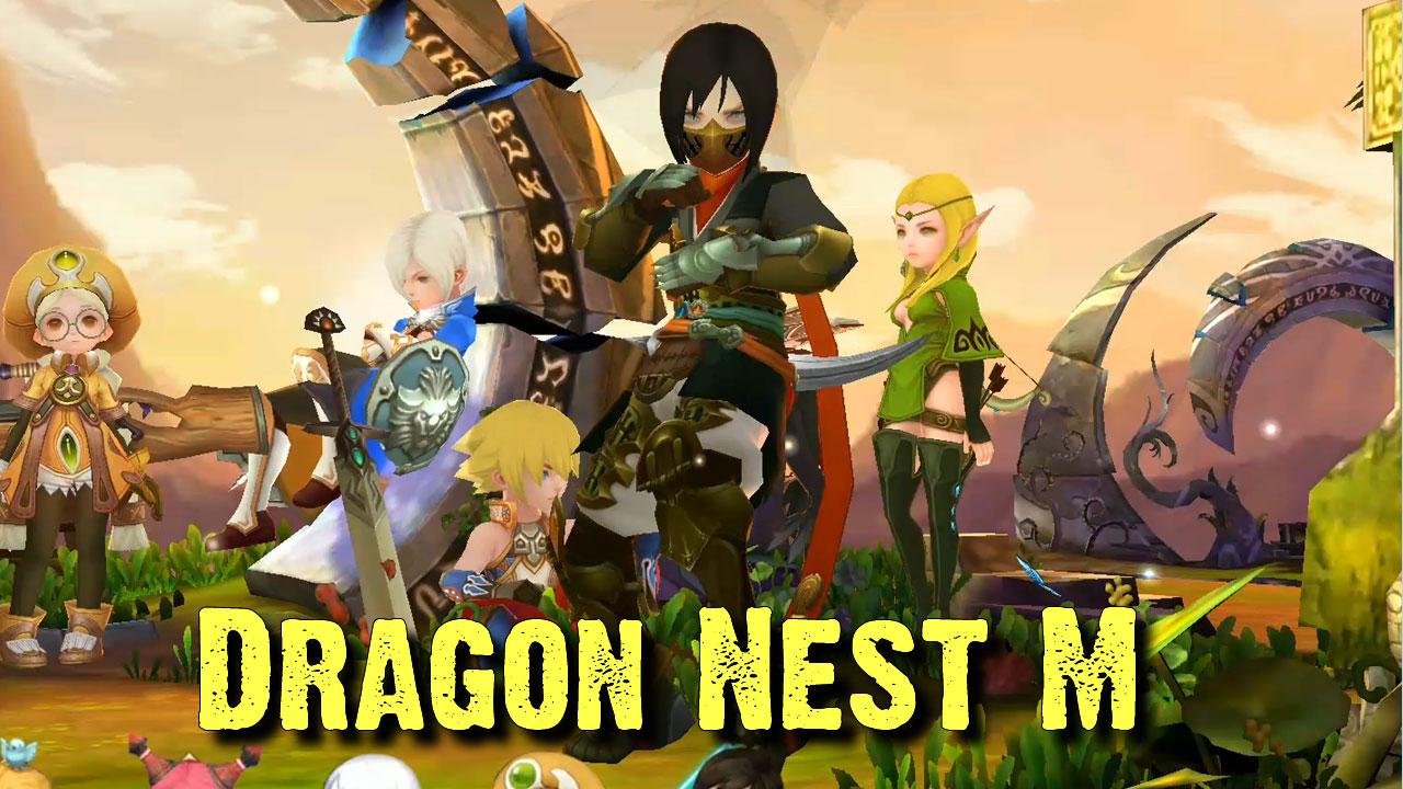 Melhor RPG para Android Dragon Nest M