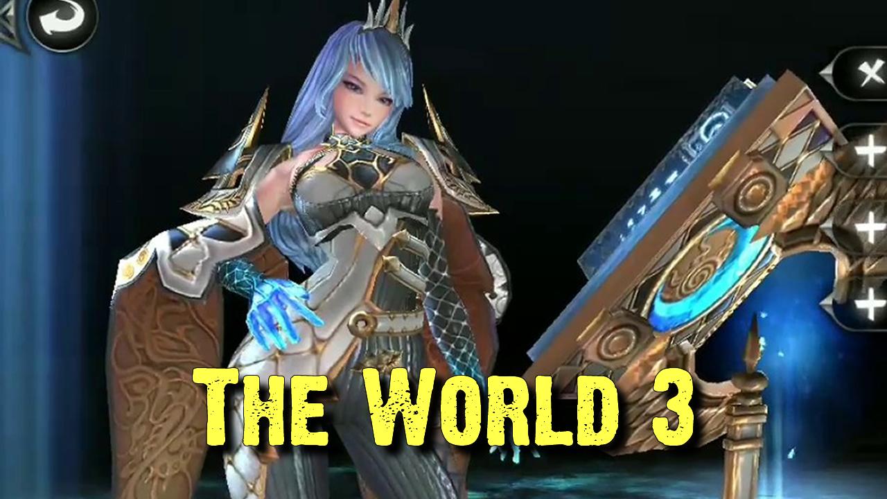 OTIMO jogo de ação RPG para android The World 3