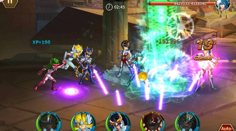 Cavaleiros do Zodíaco para Android – Saint Seiya: Galaxy Spirits