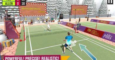 TOP jogo de Tanis para Android – Badminton Battle