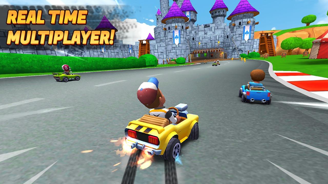 Novo jogo de Kart - Multiplayer Kart Racing - Loucura Game