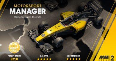 FICOU GRÁTIS! Motorsport Manager Mobile 2