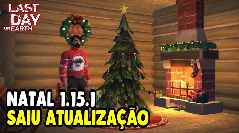 SAIU ATUALIZAÇÃO DE NATAL 1.15.1 4º TEMPORADA – Last Day On Earth