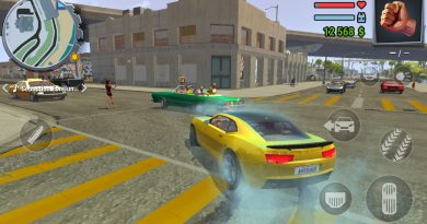 Jogo estilo GTA 5 para Android – Streets of Fire Gangs Town Story