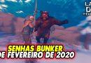 SENHAS BUNKER DE FEVEREIRO DE 2020 – Last Day On Earth