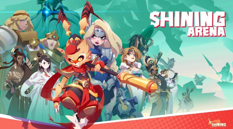 SAIU novo MOBA Shining Arena para Android