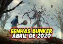 SENHAS BUNKER DE ABRIL DE 2020 – Last Day On Earth