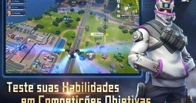 NOVO Battle Royale Estilo Fortnite e Apex para Android – Omega Legends