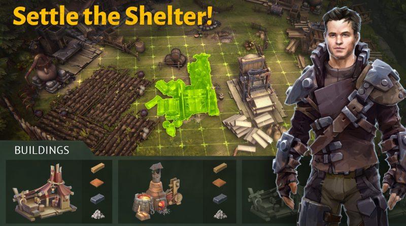 NOVO JOGO 3D de Sobrevivência para Android – Outlander: Fantasy Survival