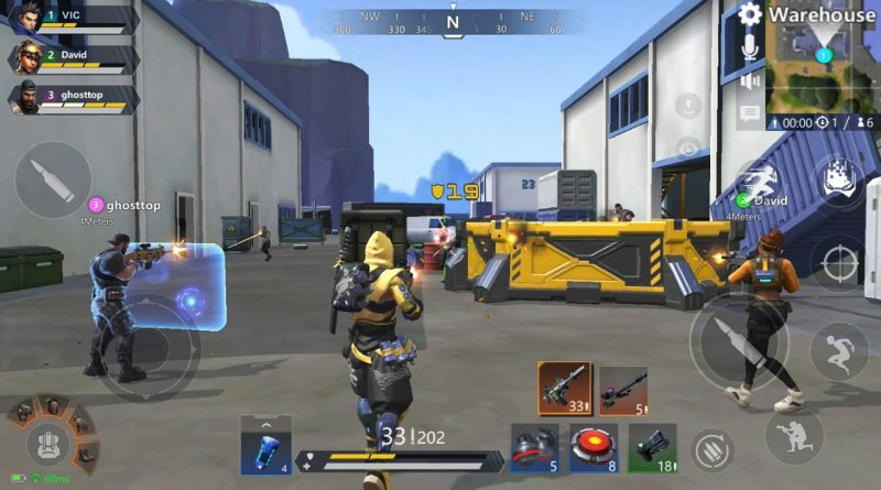 NOVO BATTLE ROYALE ESTILO FORTNITE PARA ANDROID – OMEGA LEGENDS
