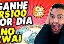 GANHE R$100 POR DIA VENDO VÍDEOS – COMO GANHAR DINHEIRO ONLINE – KWAI