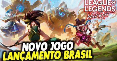 NOVO JOGO LANÇAMENTO BRASIL – league of legends wild rift MOBILE
