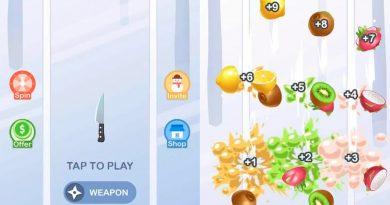 Knife Go – frutas cortadas