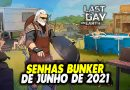 SENHAS BUNKER DE JUNHO DE 2021 – Last Day On Earth